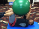 Dead Bug Exercise Using a Stability Ball