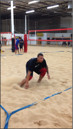 Sand Training for Speed and Lower Body Development